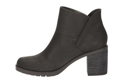 Clarks Malvet Helen - Black Nubuck - Womens Casual Boots | Clarks
