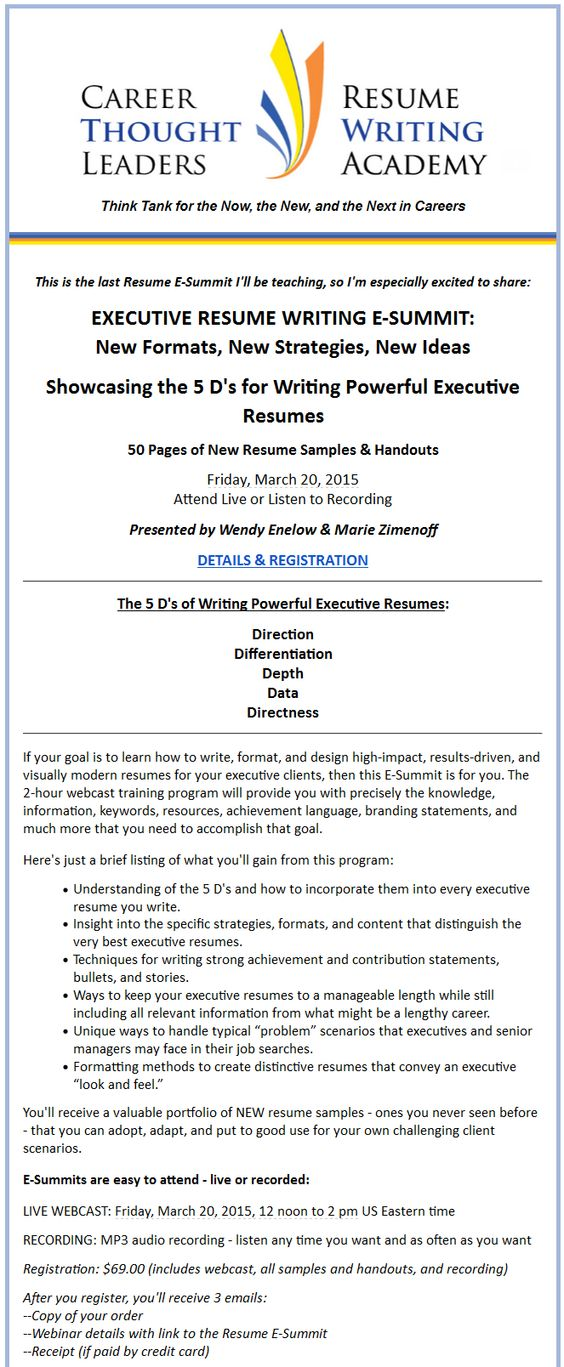 Welcoming Marie Zimenoff @workwithpurpose as the new Executive - resume writing academy