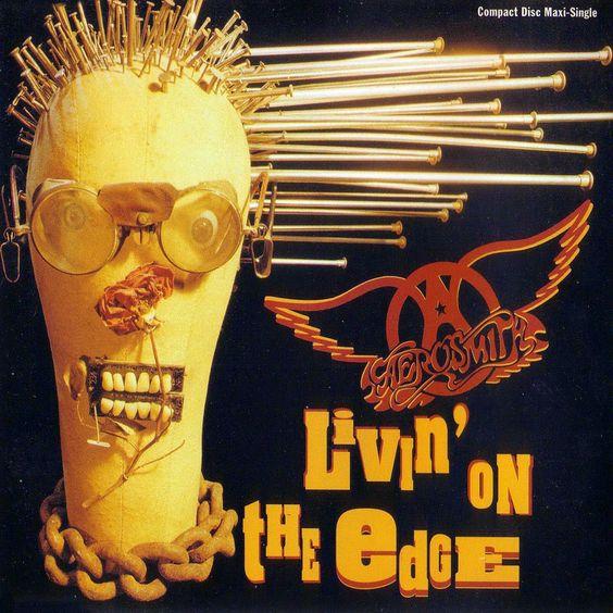 Aerosmith – Livin' on the Edge (single cover art)
