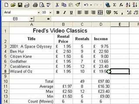 ▷ Excel 2010 Tutorial For Beginners #6 - Number Formats (Microsoft - spreadsheet compare 2010 download