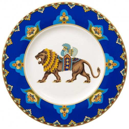 villeroy boch samarkand cobalt blue salad plate 8 1 2 in. Black Bedroom Furniture Sets. Home Design Ideas