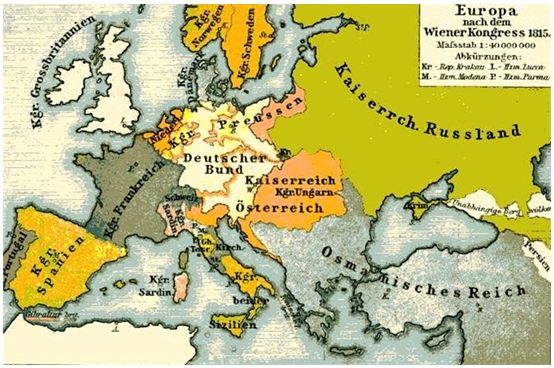 history of german nation after the congress of vienna The congress of vienna,  and supplemented by the final act of vienna, 15 may 1820, a german confederacy was set up  1815 congress of vienna 1818 congress of.