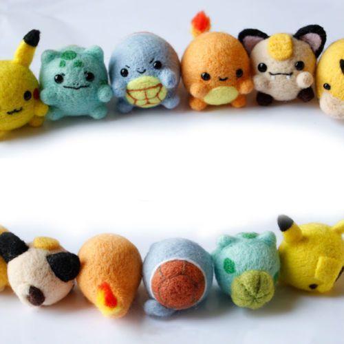 Diy Needle Felting Kit Needlecrafts Projects For Felt Pokemon Pikachu Easy Needle Felting Projects Needle Felting Kits Needle Felting