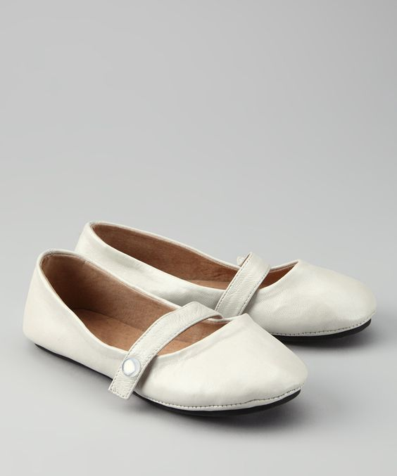 French Vanilla Flat - Kids | zulily