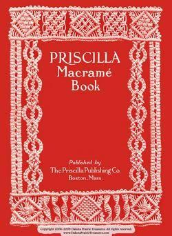 Macrame Book Patterns Designs Instruction Titanic 1913