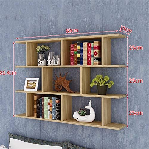 Nan Liang Wall Mounted Shelf Modern Minimalist Fashion Bookshelf Wall Mounted Bookshelf Decorative Frame A V With Images Minimalist Bookshelves Frame Decor Modern Shelving
