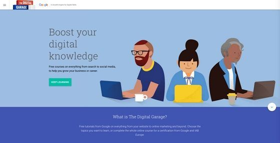 Google Garage Besplatni Alati Online Marketing Marketing Digital