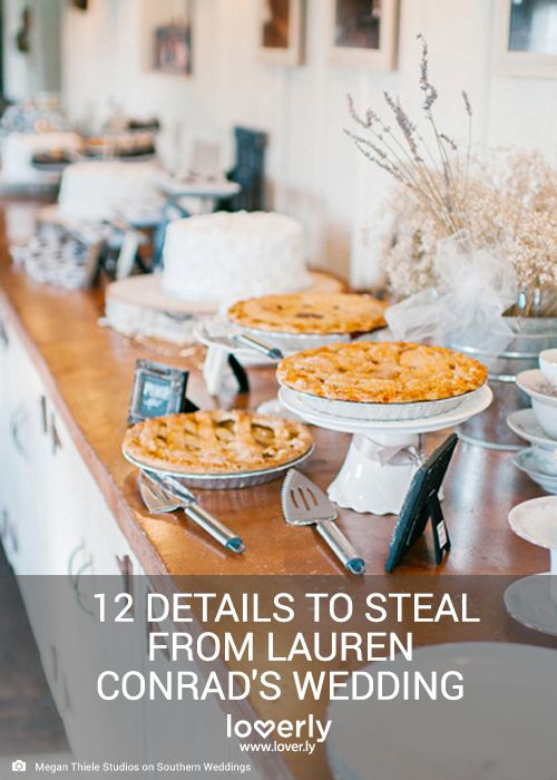 Lauren conrad wedding, Lauren conrad and Apple pie bars on Pinterest