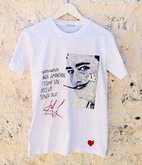Salvador Dalì T shirt  Wearable Art by Quor