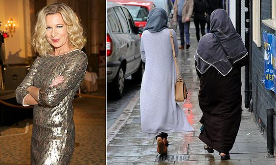 KATIE HOPKINS: Asking me to pay for Muslim women to learn English?