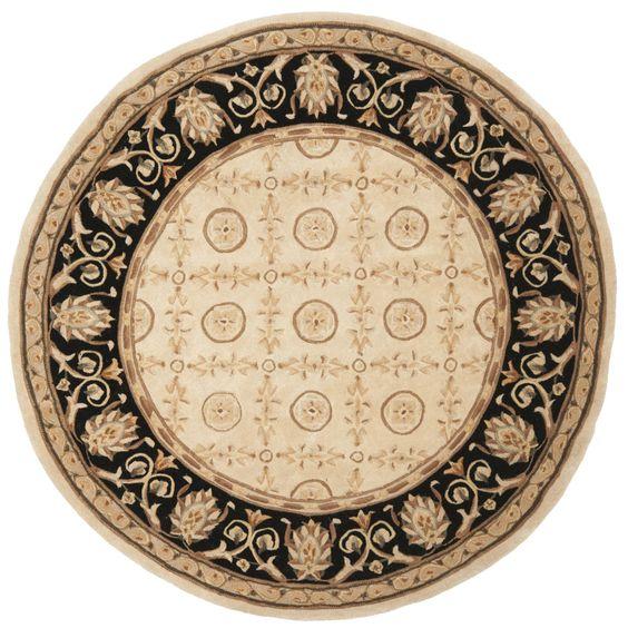 Safavieh Handmade Naples Ivory/ Wool Rug