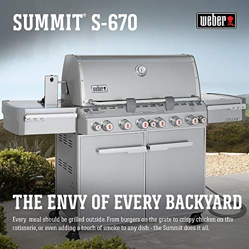 7 Best Weber Summit Grill 2019 Compare Top Model Natural Gas Grill Stainless Steel Grill Stainless Steel Rod