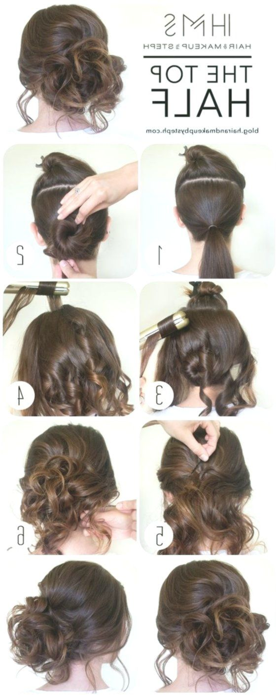 Diy Updo Wedding Hairstyle Ideas Step By Step Weddinghairstylesstepbystep Easy Hair Updos Diy Hairstyles Easy Easy Updo Hairstyles