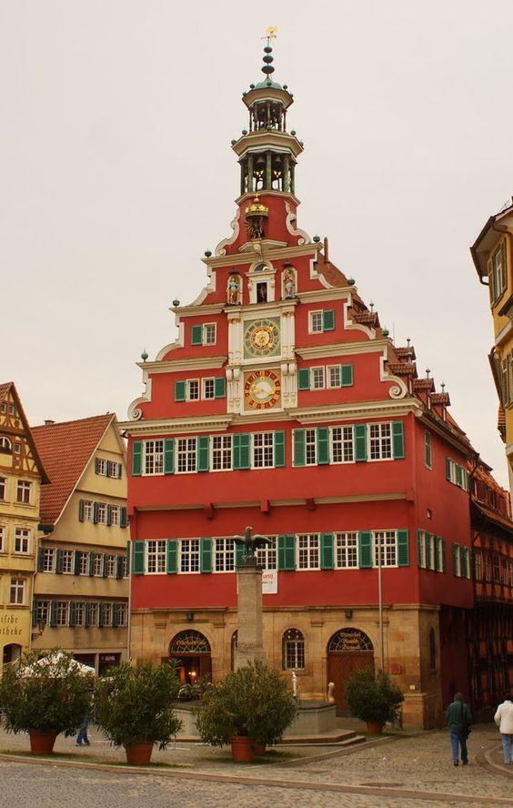 Altes Rathaus in Esslingen am Neckar