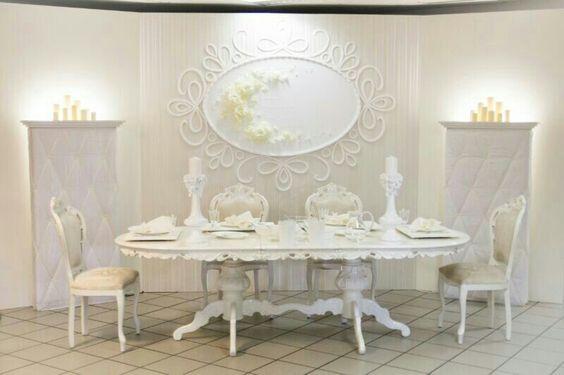 hochzeitsdeko barock wei creme wedding deko pinterest. Black Bedroom Furniture Sets. Home Design Ideas