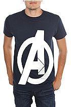 Marvel Universe The Avengers Logo T-Shirt Sku 122283
