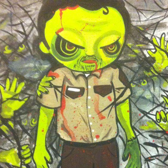 Zombie Rick Grimes
