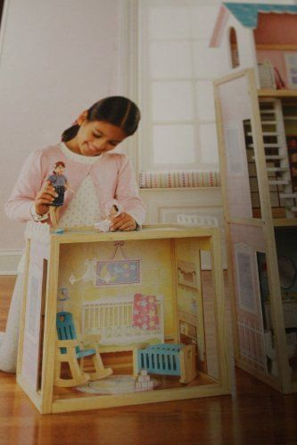 Play Wonder Nursery Room Builder Dollhouse by Play Wonder. $44.99. Includes: 1 nursery play room, 4piece accessory set. Build off each other alone or build on to play & build dollhouse.. Dollhouse and dolls sold separately