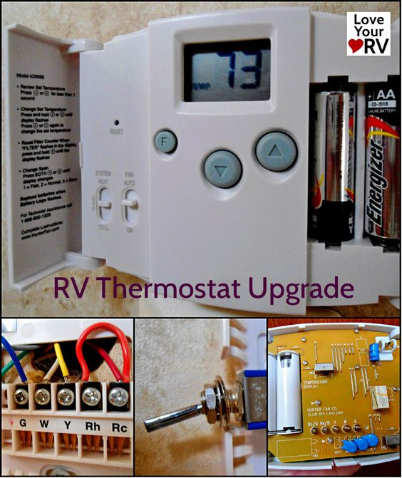 Hunter Thermostat Wiring Diagram Duo Therm Thermostat Wiring Diagram