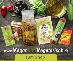 veganundvegetarisch.de: 5 % Rabatt auf das komplette Sortiment!