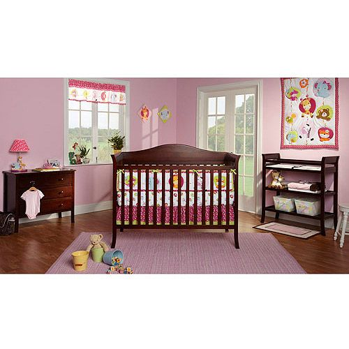 Baby Mod Bella Crib and 3 Drawer Dresser Set with BONUS Changing ...
