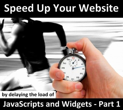 Are you looking to speed up your web site speed performance and page load speed but you don't know what to do with all those third-party widgets and JavaScripts you have been adding on your side columns? Have you just finished testing your web site speed with Google Page Speed..    Link: http://www.masternewmedia.org/how-to-speed-up-your-website-page-load-performance-by-delaying-the-load-of-javascript-and-widgets-part-1/