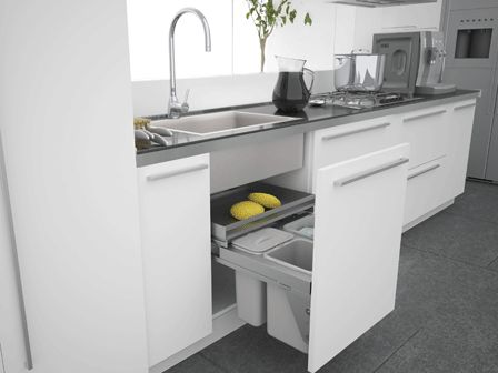Under Sink Drawers With Bin | Home Ideas | Pinterest | UX/UI ...