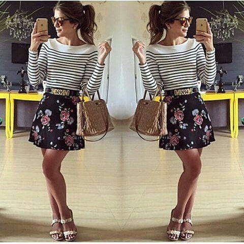 Look inspiração _________________________________ #filhadorei #boatardee #itsagirl #instabeauty #job #snap #instalike #recipe #girl #hits #look #makeup #life #happy #vida#good #deus #minhavida #instablogger #instapicture #youtube #blogueirasiniciantes #fhasion #glamour#gift #vibe  #dicas#moda#instalook#floral