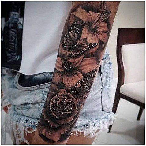 Menssleevetattoo Sleevetattoos 1 233 Likes 28 Comments Electric Ink Vicky Sleeve Tattoos For Women Best Sleeve Tattoos Tattoos For Women Half Sleeve