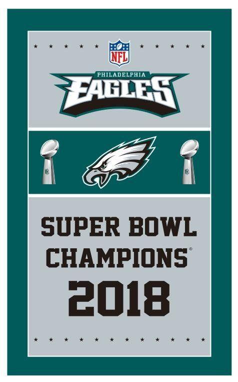 150x90cm Polyester Flag Super Bowl Champions Flag Lii With Philadelphia Eagles Flag Philadelphia Eagles Super Bowl Eagles Super Bowl Philadelphia Eagles Flag