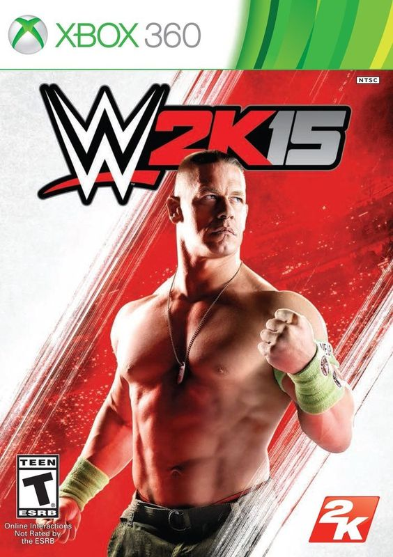 WWE 2K15 - Xbox 360 Xbox 360 Standard Wrestling Video Game