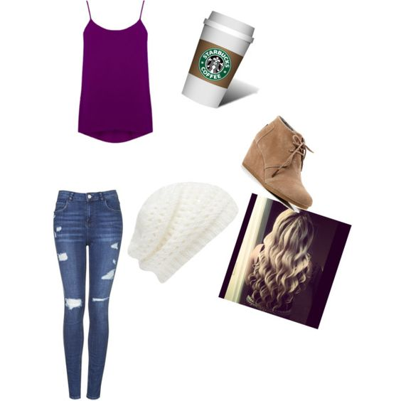 Cute by caligirl43 on Polyvore featuring polyvore, fashion, style, Topshop, TOMS and Forever New