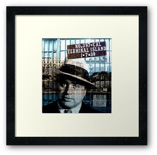 Al Capone Framed Print By Valentinahramov Framed Art Prints Framed Prints Al Capone