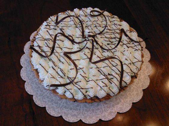 Mint chocolate cream pie