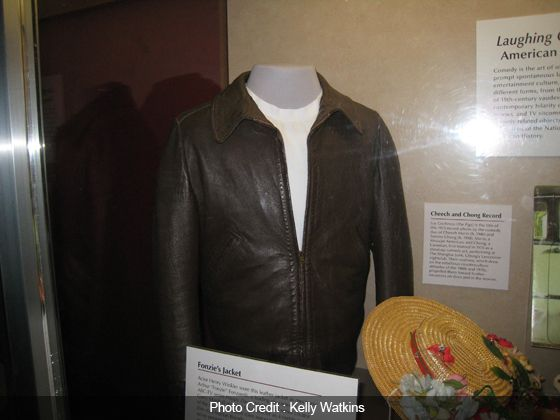 Fonzie's-Jacket in the Smithsonian