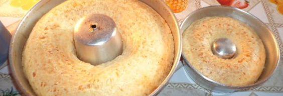 Receita de Bolo de polvilho e queijo - Receitas Supreme