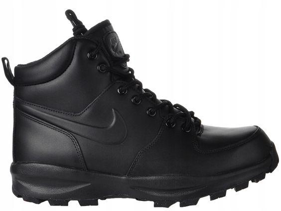 Buty Zimowe Meskie Nike Manoa Leather R 42 5 7512881089 Oficjalne Archiwum Allegro Boots All Black Sneakers Black Sneaker