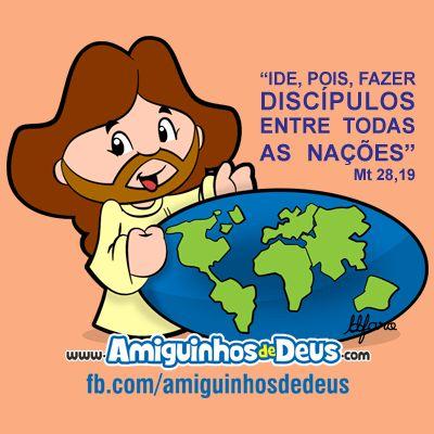ide e fazei discipulos entre todas as nações