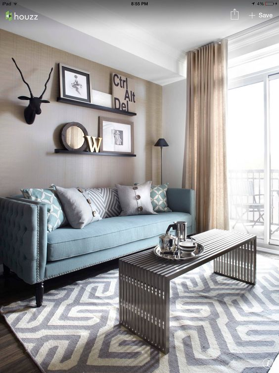 Duck Egg Sofa With Soft Grey Carpet And Linen Sheers. | Sofas | Pinterest |  Gray Carpet, Linens And Egg