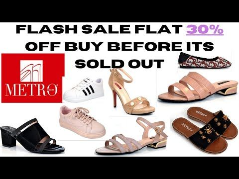 METRO shoes 👠 Sale Start Now 2020