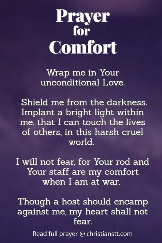 Effective Prayer For Comfort In Tough Times Prayer For Comfort Prayer For Guidance Bible Quotes Prayer