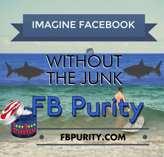 Clean up and Customize Facebook with the safe, free and critically acclaimed FB Purity