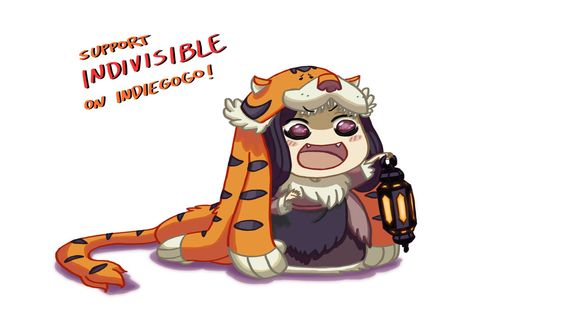 Indivisible: Razmi-chan by southpawper on DeviantArt