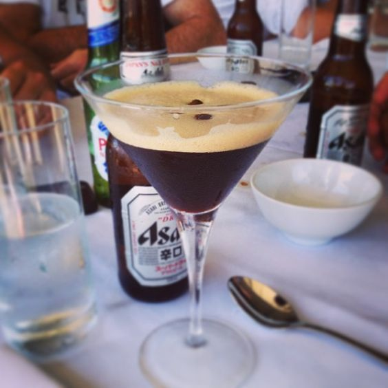 #italiancoffeesecret #piaschenk Welcomes first pic from AUSTRALIA! Thanks to @andrewmates and his Espresso Martini. Read how to mix it... http://instagram.com/p/sDyq5QB7bL/