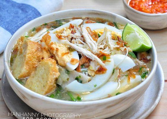 Resep Soto Banjar Oleh Hanhanny Resep Makan Siang Resep Resep Masakan