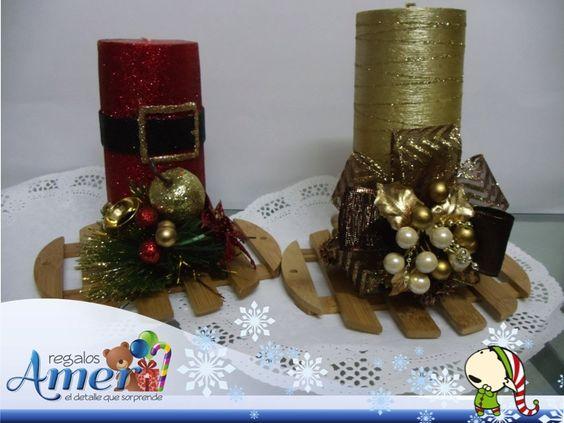 navidad en regalos amer velas decoradas por regalos amer mxico