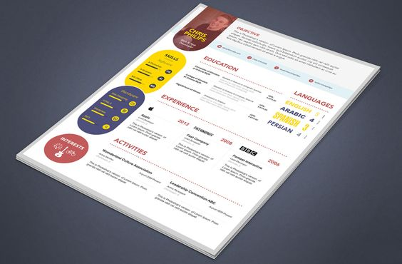 Cool 15+ Best Free Resume \/ CV Templates PSD Professionally - psd resume templates