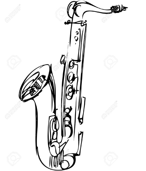 Image issue du site Web http://previews.123rf.com/images/zirka/zirka1111/zirka111100044/11119041-a-sketch-brass-alto-saxophone-musical-instrument-Stock-Vector.jpg