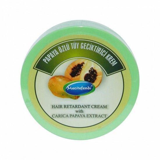 كريم مؤخر نمو الشعر صيغة البابايا 9 خلاصات نباتية 150 مل