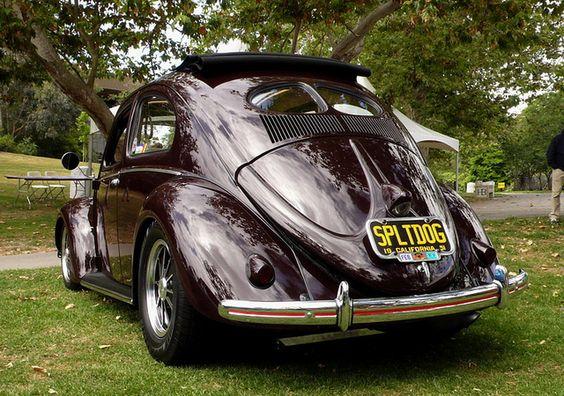 Classic VW - Clean split window woth rag top - 1951 vw bug   1951 VW Bug